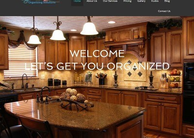 Website Design – Organizing Solutions