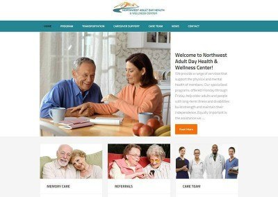 Website Design – North West Center