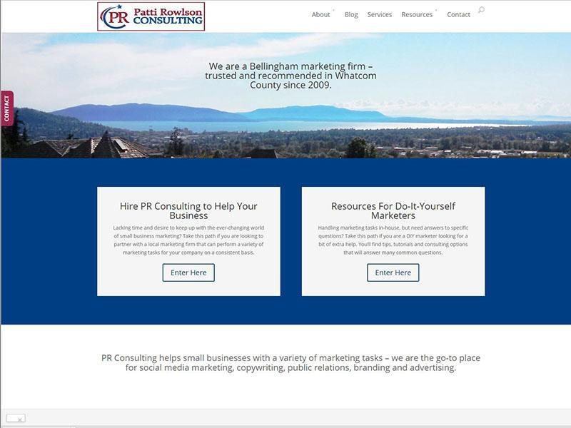 Website design pr consulting we build websites for Web design consultant