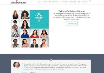 Website Design – Talented Women