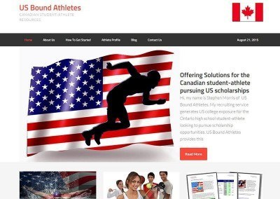 Website Design – USBound Project
