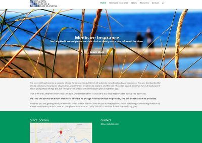 Website Redesign – Jeff Lamphere Insurance