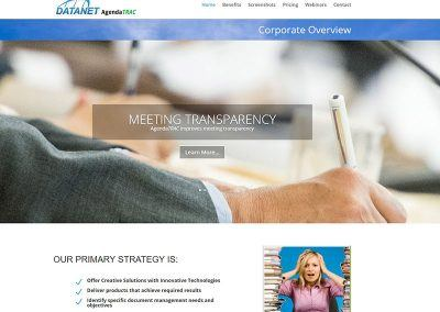Website Re-Design – Datanet
