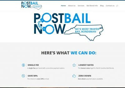 Website Design & SEO – Post Bail Now