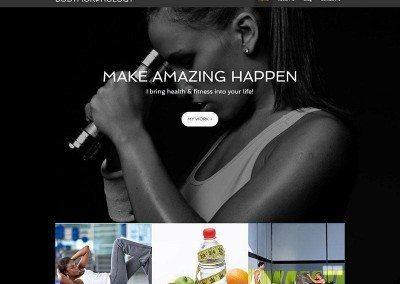 Website Design – Bodymorphology Project