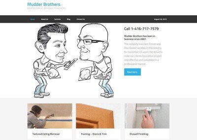 Website Design – Construction Project