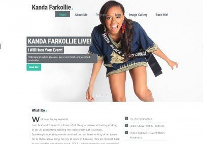 Website Design – Kanda Project