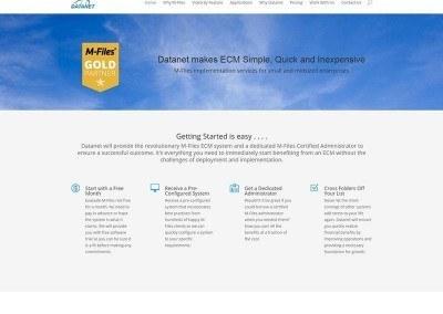 Website Design -Datanet Project