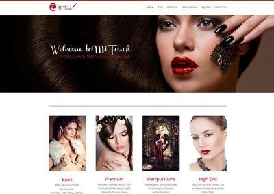 Website Design – Mi-Touch Project