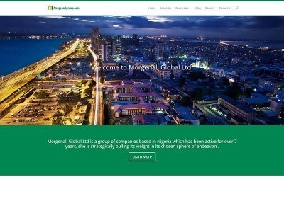 Website Design – Morgenall Group Project