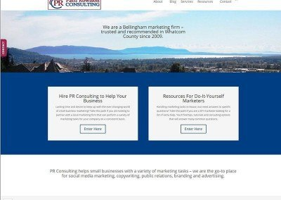 Website Design -PR Consulting