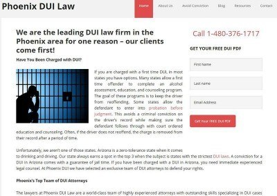 Website Design – Law Firm Project