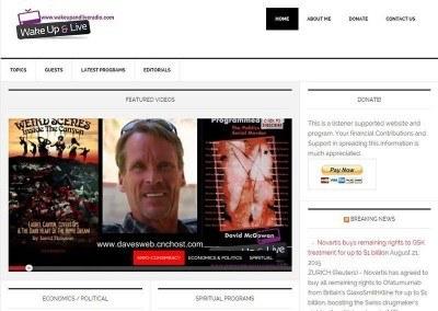 Website Design – Video Blog Project