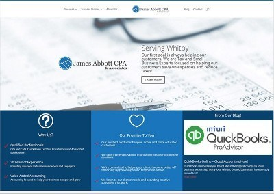 Website Design & SEO – James Abbott