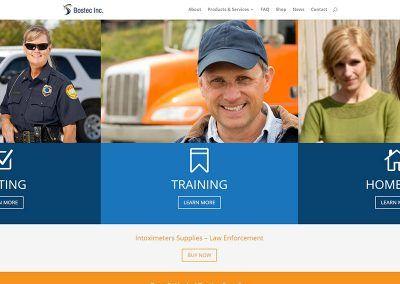 Website & E-Store Redesign – Bostec