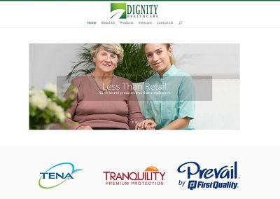 Website Re-Design – Dignity Health Care