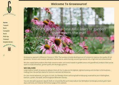 Website Re-Design – GrowSource