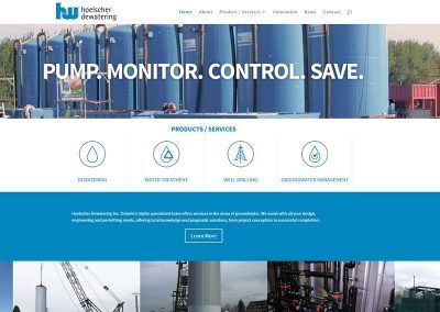 Website Design – Hoelscher Dewatering