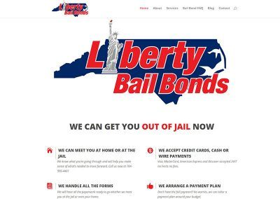 Website Design & SEO – Liberty Bail Bonds