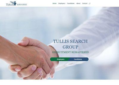 Website Design – Tullis Search Group
