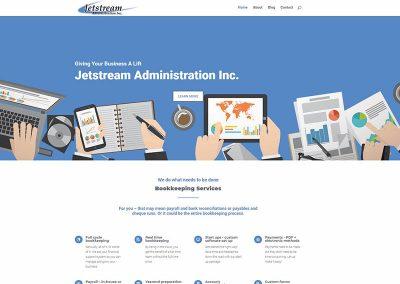 Website Design – Jetstream Admin
