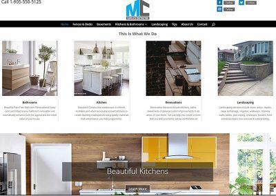 Website Design & SEO – Manulock Construction